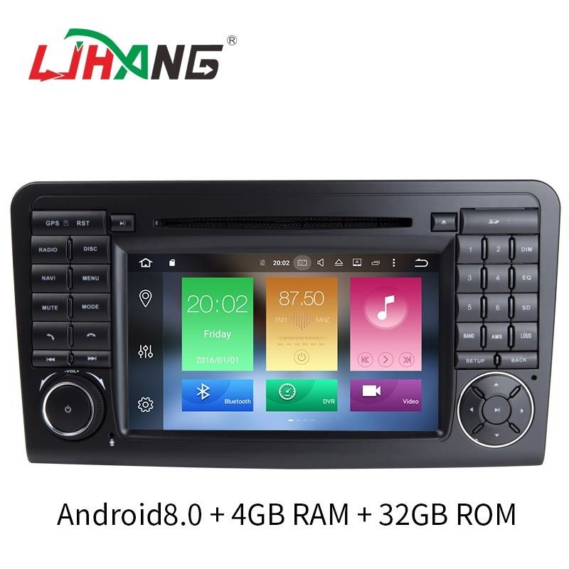 Multi Touch Screen Mercedes Benz Car Dvd Player HMDI Output Optional